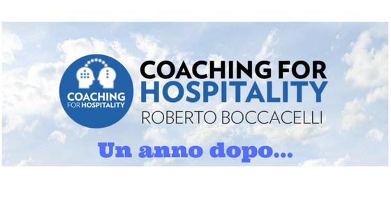 Coaching for Hospitality: + 70% nei primi 12 mesi