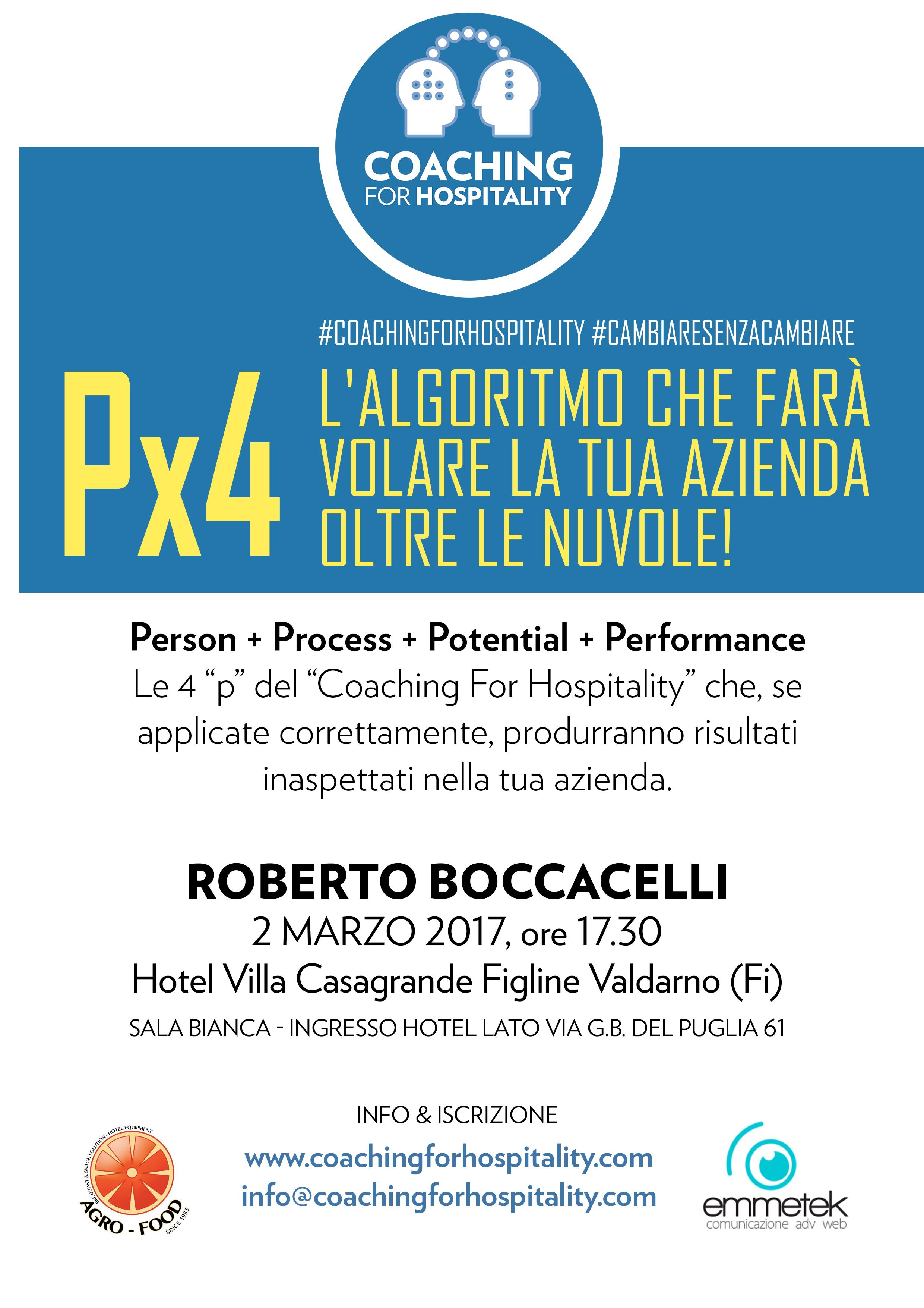 Px4: Workshop Gratuito di Roberto Boccacelli